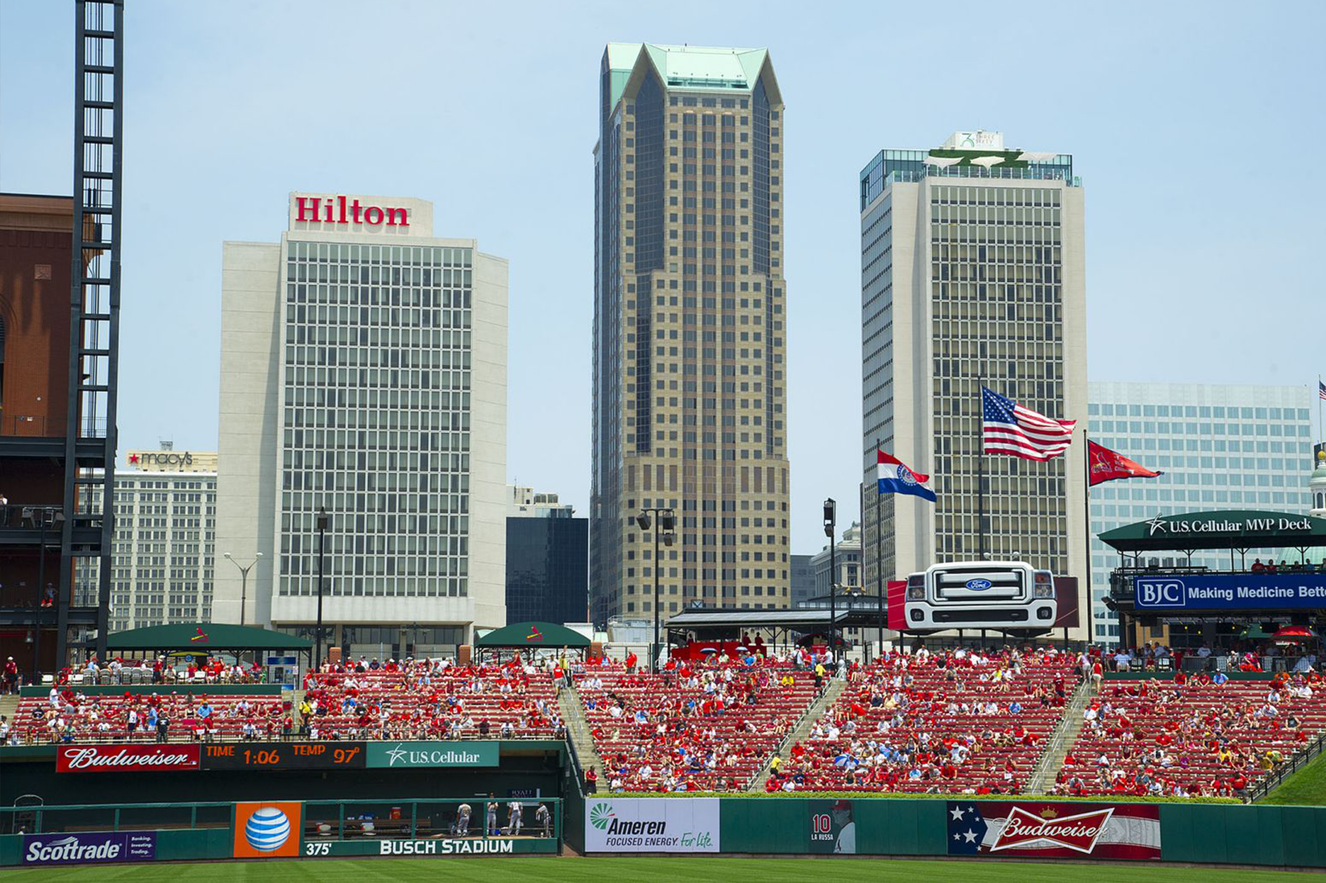 St. Louis at the Ballpark